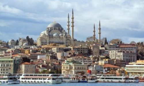 Вид Стамбула с Босфора
